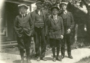 Joseph, Albert, Benjamin and Leland - 1924