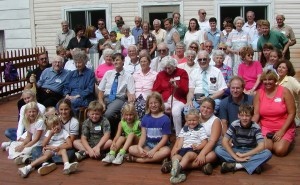 Randolph and Bond Family Reunion August 2001